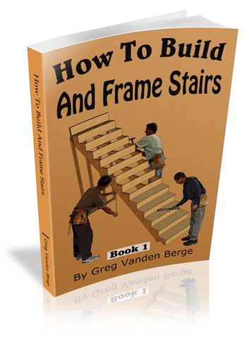 How To Build And Frame Stairs Book
